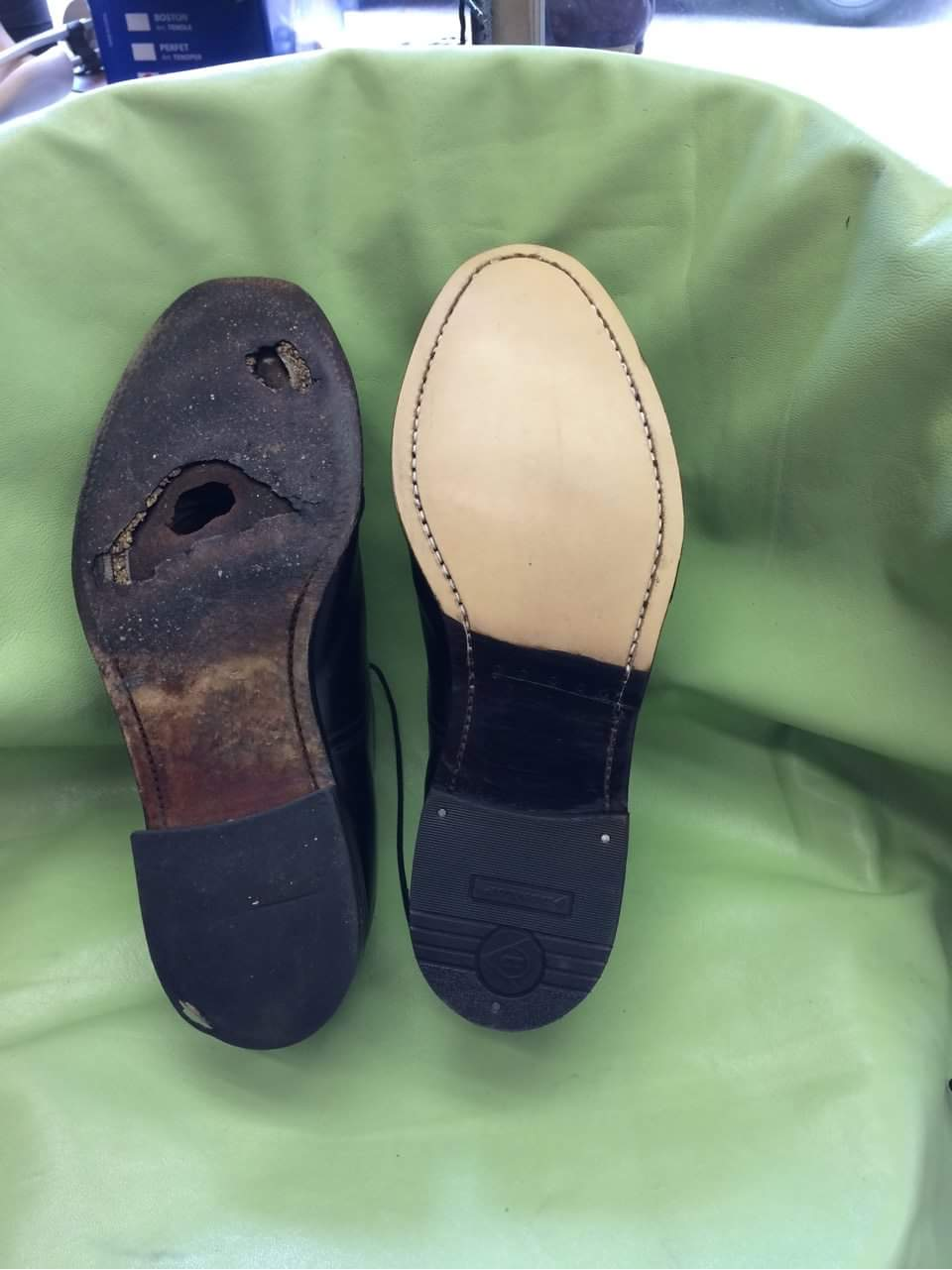 Get your shoes re-soled